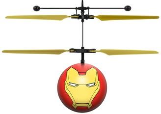 Iron Man Marvel Avengers IR UFO Ball Helicopter