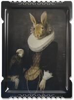 Ibride Galerie De Portraits - Large Rectangular Tray - Zhao
