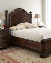 Horchow Colette California King Panel Bed