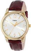 Timex Women's T2P254 Leather Quartz Watch