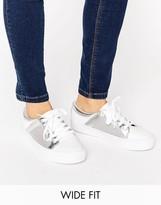 Asos DANI Wide Fit Mesh Sneakers