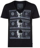 Philipp Plein Embellished Money Maker T-shirt