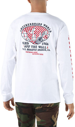 Vans Checkerboard World Long Sleeve T-Shirt