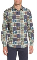 Michael Bastian Men's Patchwork Print Sport Shirt
