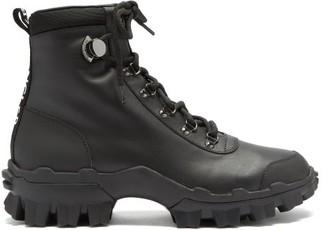 Moncler Helis Trek-sole Leather Boots - Black