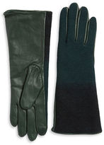 Echo Wool and Leather Gloves