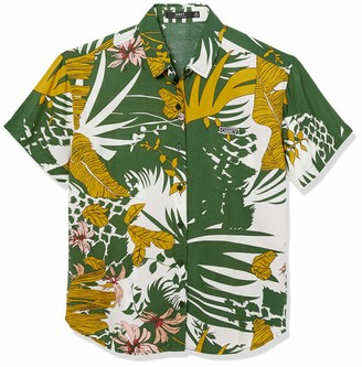 Obey Junior's Button-up Blouse