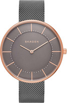 Skagen SKW2584 Gitte rose gold-plated stainless steel watch