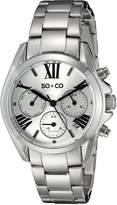 SO & CO New York Women's 5064.1 Madison Analog Display Quartz Watch
