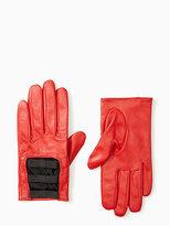 Kate Spade Elastic bow gloves