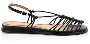 Joie Women's Estin Knotted Leather Slingback Sandals