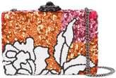Oscar de la Renta floral clutch