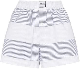 Eytys quinn stripe shorts