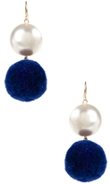 Amrita Singh Pearl Pom Pom Drop Earrings