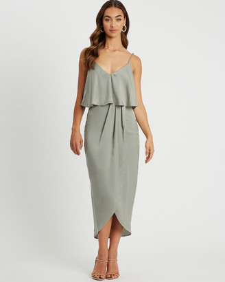 CHANCERY - Women's Maxi dresses - Ivy Midi Dress - Size One Size, 6 at The Iconic