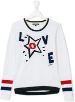 Tommy Hilfiger Junior - Love jumper - kids - Cotton - 14 yrs
