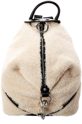 Rebecca Minkoff Julian Shearling Backpack