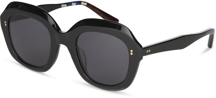 a6318c890da7 Dark Black Lens Sunglasses - ShopStyle