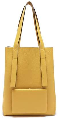 Lutz Morris - Seveny Grained-leather Tote Bag - Womens - Yellow