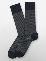 Calvin Klein Fine Stripe Crew Socks