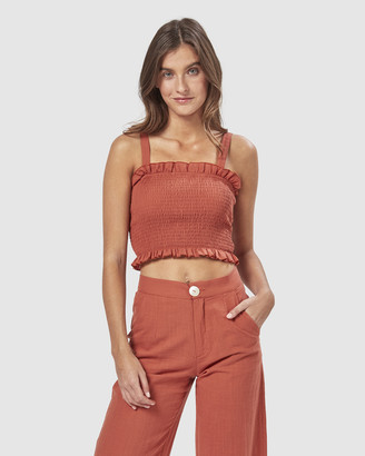 Charlie Holiday Cha Cha Cropped Top
