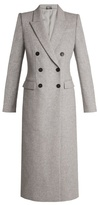 Alexander McQueen Double-breasted peak-lapel wool coat