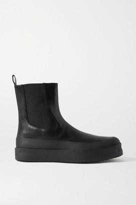Neous Zaniah Leather Chelsea Boots - Black