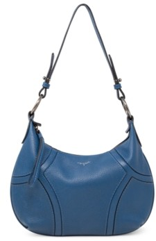 T Tahari Devon Leather Hobo