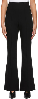 Low Classic Black Boot Cut Trousers