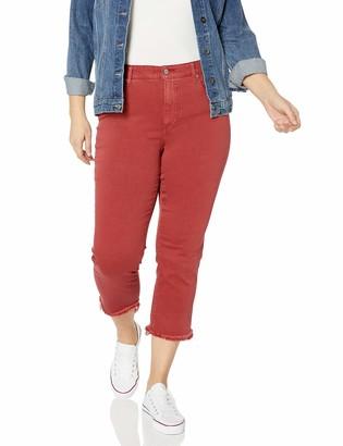 Lucky Brand Women's Plus Size High Rise Emma Crop Jean in LA Cara