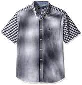 Short Sleeve Fitted Button Down Shirt - ShopStyle