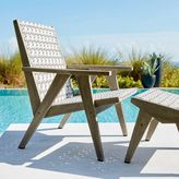 west elm All-Weather Wicker Globalist Lounge Chair