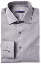 Geoffrey Beene Gunmetal Sateen Classic Fit Dress Shirt