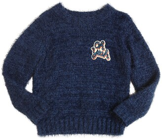 American Outfitters Furry Tricot Cotton Sweater