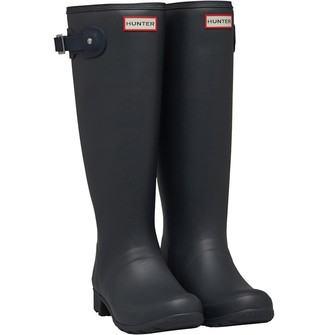 Hunter Womens Tour Wellington Boots Dark Slate/Navy