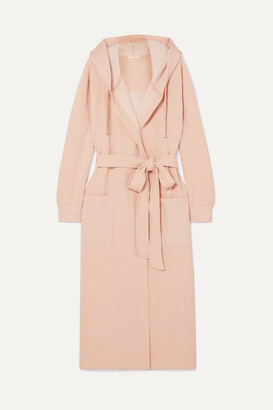Eberjey Larken Hooded Cotton-blend Robe - Blush