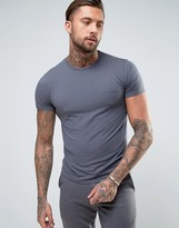 Emporio Armani T-shirt With Logo In Muscle Fit