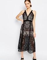 Alice McCall Wanderlust Lace Sleeveless Maxi Dress