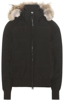 Canada Goose Savona down bomber jacket with fur