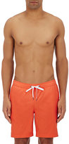 Onia MEN'S CHARLES COTTON-BLEND SWIM TRUNKS