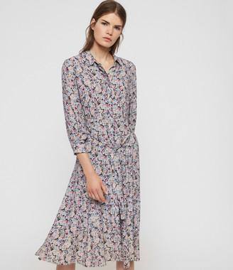 AllSaints Chiara Sketch Dress