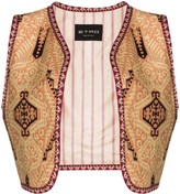 Etro tapestry print cropped waistcoat