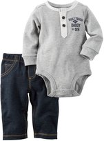 Carter's Baby Boys Bodysuit Pant Sets