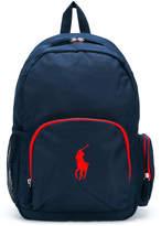 Ralph Lauren logo backpack