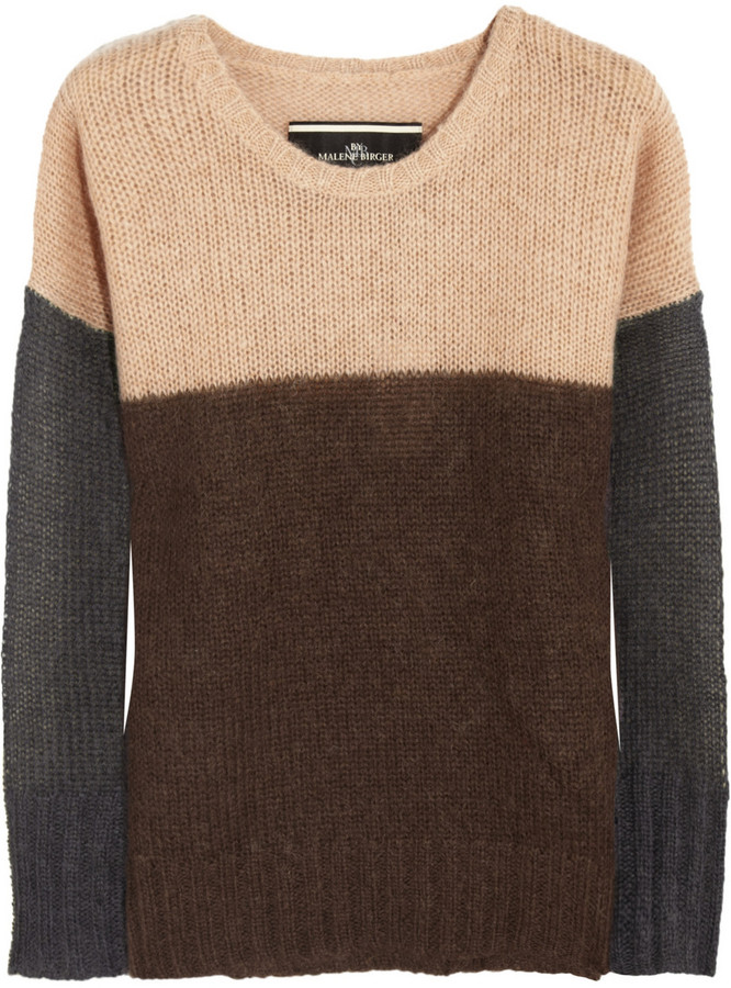 By Malene Birger Billiye paneled sweater