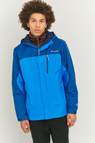 Columbia Pouring Hyper Blue Adventure Jacket