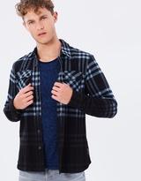 Scotch & Soda Brushed Flannel Oversized Shirt