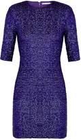 Alice + Olivia Inka Purple Sequin Mini Dress