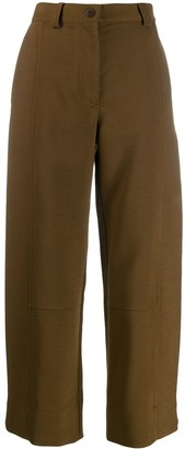 See by Chloe cropped straight-leg trousers