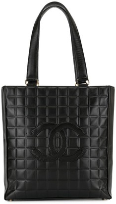 Chanel Pre Owned 2001's Choco Bar Shoulder Tote Bag
